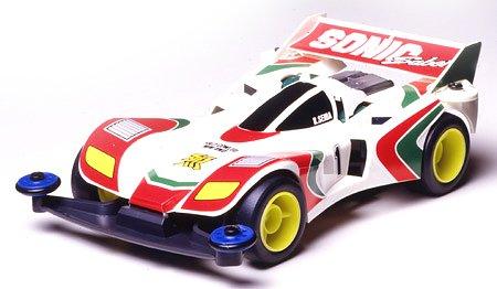 Mini4WD Let's Go Sonic Saber