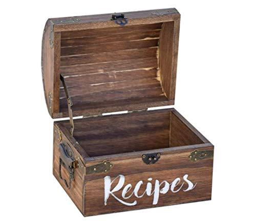 Personalized Recipe Card Box - Personalized Gift - Rustic Home Decor - Recipe Holder - Recipe Box - Recipe Card Box - Wood Recipe Box - Recipe Box With Name