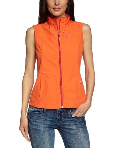 Maier Sports Veste Softshell pour Femme, 260302 adour Orange Rouge 46
