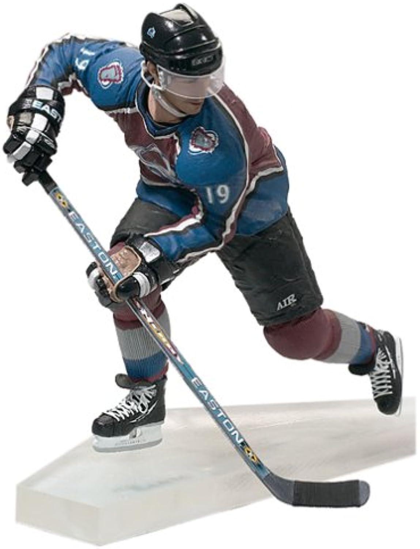 McFarlane Toys NHL Sports Picks Series 3 Action Figure  Joe Sakic (colorado Avalanche) Maroon Jersey by Sports Picks