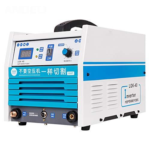 SHIJING ingebouwde luchtcompressor plasmasnijden met -40Y plasmasnijder eenvoudig te dragen intelligente plasmasnijmachine