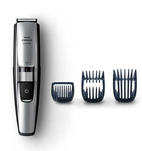 Philips Norelco Beard and Hair Trimmer, Series 5100 with 3 Attachments Cordless Hair Clipper and...