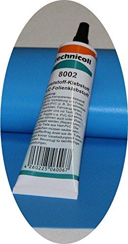 Jeha Pool Reparaturset mit Folie + Folienkleber technicoll 8002, Folien Reparaturset Poolflicken + Kleber Schwimmbad Verschiedene Größen (35 cm x 35 cm + 1 Tube Kleber)