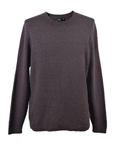 BOSS BLACK Pull Liam couleur Marron 251 Taille S