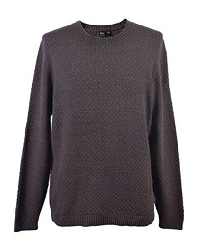 BOSS BLACK Pull Liam couleur Marron 251 Taille S