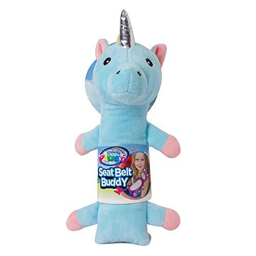 Cloudz - Funda para cinturón de seguridad para niños, diseño de unicornio