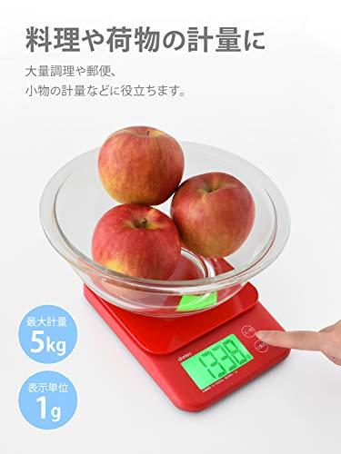 ドリテック『デジタルスケール「バルケット」5kg(KS-513)』