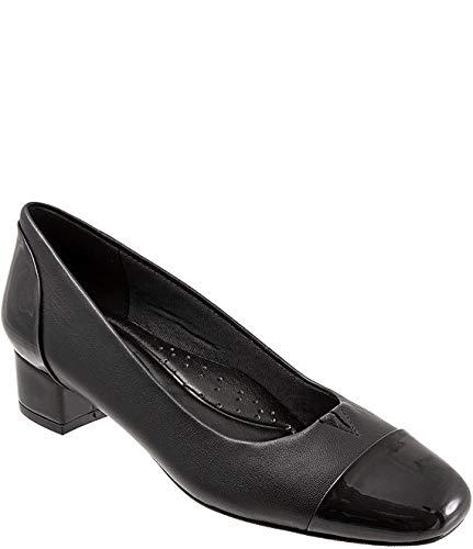 [トロッターズ] シューズ 26.5 cm パンプス Daisy Leather Cap Toe Pumps Black レディース [並行輸入品]