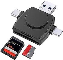 メモリカードリーダー 4in1 SD カードリーダー USB3.0 データ移行