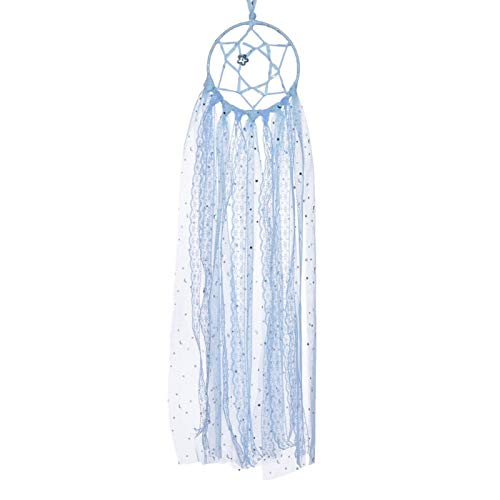 Pared colgando sueño catcher, guirnalda dream catcher tapiz tejido tapiz, colgante de pared Dreamcatcher con arco de horquilla, decoración del hogar bohemio adornos de fiesta de boda regalos de niña