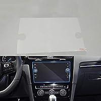 カーナビ 用液晶保護フィルムカースタイリングGPSナビゲーションスクリーンガラス保護フィルムコントロールLCDスクリーンカーステッカー、VWポロゴルフスポーツバン2018用