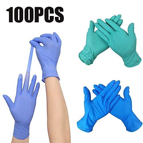 Catering per uso domestico pulizia domestica e guanti monouso sanitari pratici guanti di bellezza spessi trasparenti 100 pezzi