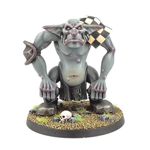 War World Gaming Gutrot Greenskins - Grunger el Troll - 28mm, Miniaturas, Fantasía, Futbol, Blood Bowl, Goblin, Criatura Fantastica, Figura Coleccionismo