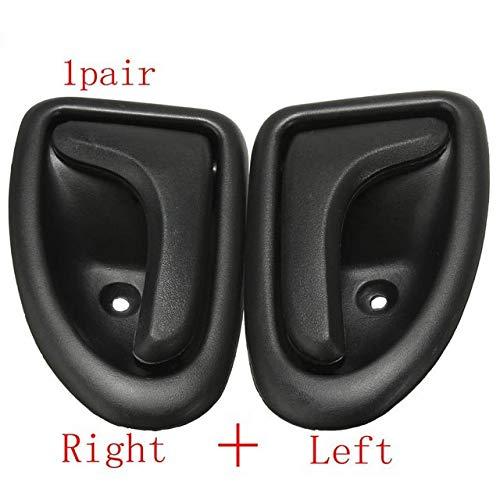XuBa - Pomo de Mano Izquierda Derecha para Puerta Interior de Coche para Renault Clio