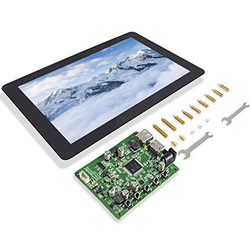 SunFounder Raspberry Pi Touch Screen 10.1 inch HDMI Pi Monitor IPS LCD Screen for Pi 4B 3B+3B 2 Model B Beagle Bone LattePanda Windows