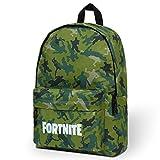 Fortnite Mochila escolar, mochila grande para niños, regalos Fortnite para niños, Verde camuflaje., Talla única