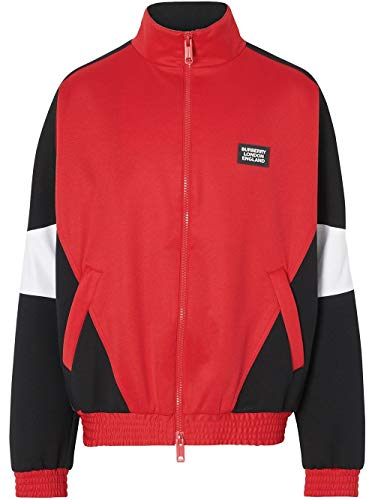 BURBERRY Luxury Fashion Herren 8023780 Rot Sweatshirt |