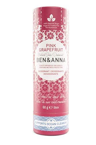 Ben&Anna Deodorant Paperstick Pink Grapefruit