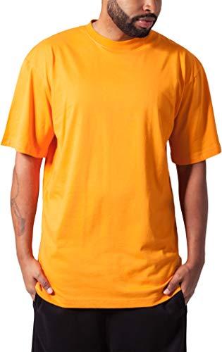 Urban Classics Herren T-Shirt Tall Tee, Farbe orange, Größe 3XL