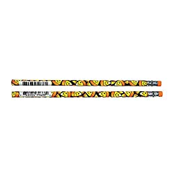 Smiley Face Candy Corn Pencils