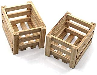 Yeah Racing 1/10 RC Rock Crawler Accessory Wooden Crate-YA-0400