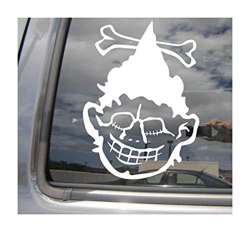Right Now Decals - Shrunken Head - Headhunting Amazon Jivaroan Tsantsa - Cars Trucks Moped Helmet Hard Hat Auto Automotive Craft Laptop Vinyl Decal Window Wall Sticker 10303