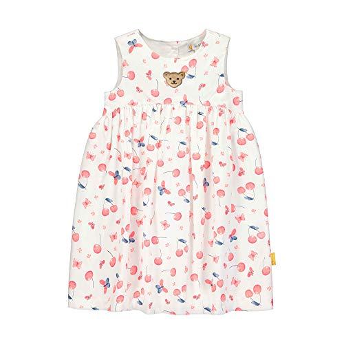 Steiff Mädchen Kleid, Weiß (Bright White 1000), (Herstellergröße: 110)
