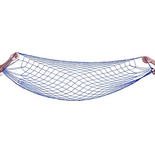 Kingus - Hamaca ultraligera y cómoda, a rayas, transpirable, perfecta para viajes al aire libre, camping