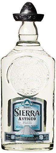 Sierra Antiguo Tequila Plata - 100% blaue Weber Agave (1x0,7l) - Hergestellt in Mexiko - In Kupferkesseln mehrfach destilliert