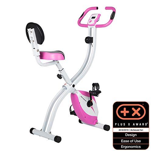 Ultrasport Unisex F-Bike, pantalla LCD, entrenador casero plegable, niveles de resistencia ajustables,...