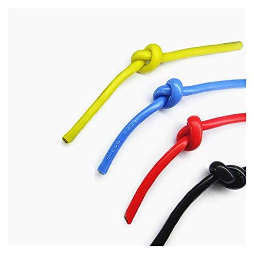 Flexibles Kabel Hitzebeständige Kabelkabel weiche Silikondraht 12awg 14awg 16awg 18awg 20awg 22awg 24awg 26awg 28awg 30awg Stecker Für Autos, Schiffe