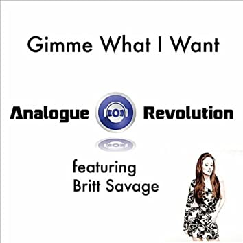 Gimme What I Want (feat. Britt Savage)