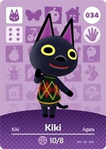 Kiki Amiibo Card Animal Crossing
