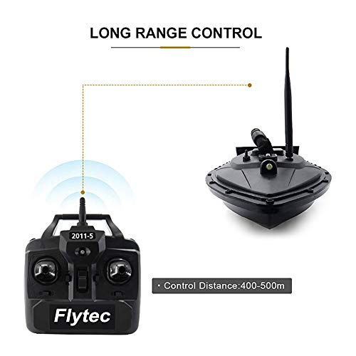 Goolsky Flytec 2011-5 Fishing Bait Boat RC Boat 500m Remote Control 1.5kg Loading Fish Finder with Double Motor Fishing…