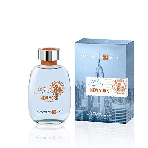 Mandarina Duck Let's Travel to New York for Man Edt 100 Ml