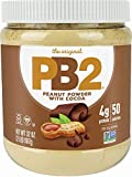 PB2 Powdered Chocolate Peanut Butter with Cocoa - 4g of Protein, 90% Less Fat, Certified Gluten...