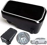 Chargeur de Voiture sans Fil pour Volvo XC90 XC60 S90 V90 2020 2019 2018 Panneau D'accessoires de...