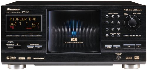 Best Prices! Pioneer DV-F727 301 Disc DVD / CD / CD-R/ and RW Player