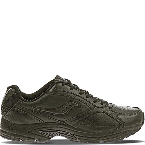 Saucony Men's Grid Omni Walking Shoe,Black,12 W (4261-2)