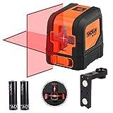 Livella laser, Tacklife SC-L01 Laser a Croce Autolivellante Misuratore a Infrarossi Orizzontale e...