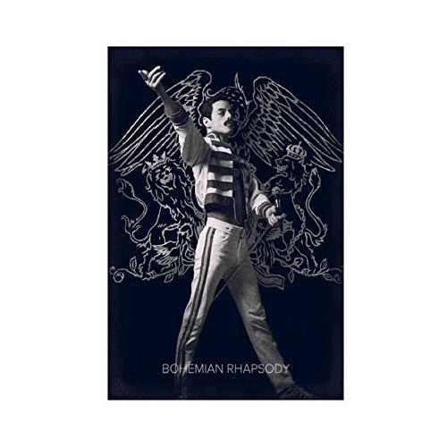 Poster HD Vintage Classic Movie Bohemian Rhapsody 2018 2 Tela Poster Arredamento Camera Da Letto...