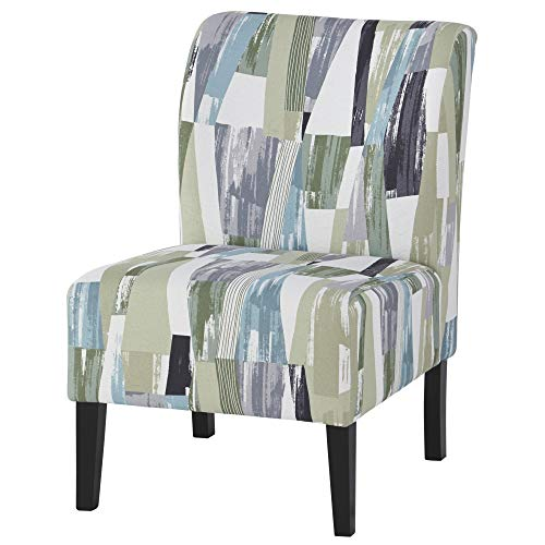 Signature Design by Ashley - Triptis Accent Chair - Casual - Geometric Stripes