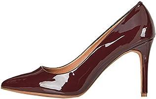 Marchio Amazon - find. - Dubai-s-254, Scarpe col tacco punta chiusa Donna