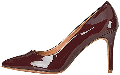 Amazon-Marke: FIND High Heel Point Court Pumps, Braun (Chocolate (Nude), 41 EU