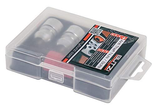 SUMEX BZA1250 Juego de Cuatro Tuercas antirrobo, 12X1,50