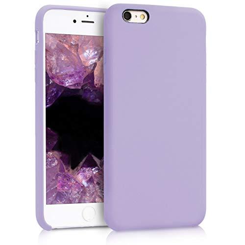 kwmobile Cover Compatibile con Apple iPhone 6 Plus / 6S Plus - Custodia in Silicone TPU - Back Case Protezione Cellulare Lavanda