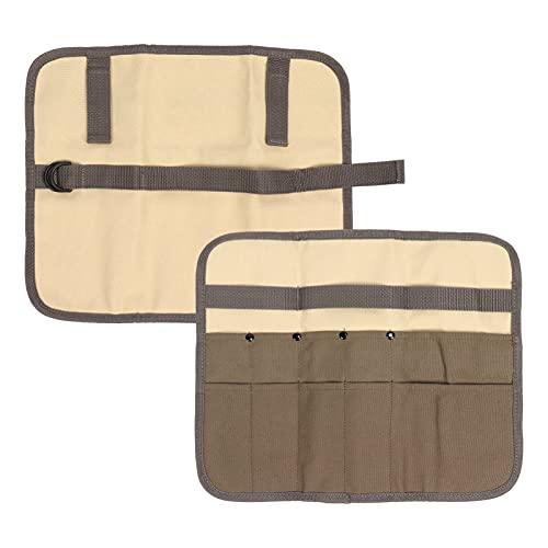 Pinsofy Bolsa de Almacenamiento para Camping, Impermeable, portátil, cómodo de Usar, Bolsa de Almacenamiento de Lona para Picnic Junto al Lago, Playa, Barbacoa, para el hogar