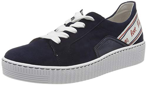 Gabor Shoes Gabor Jollys, Zapatillas Mujer, Azul (Bluette Kombi 16), 37 EU