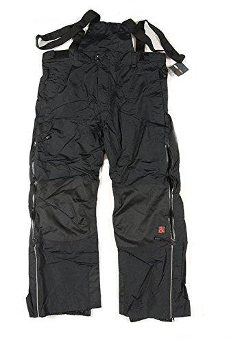 Abraxas Eiger Pantalon de ski thermique pour homme Noir 3XL 14XL - Noir - XXXL