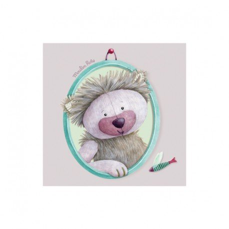 Moulin Roty - Tableau Chamalo Les Pachats - 20x20 cm